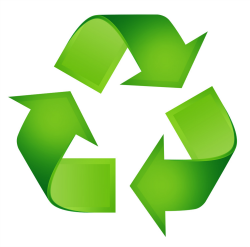 Reuse recycle green logo