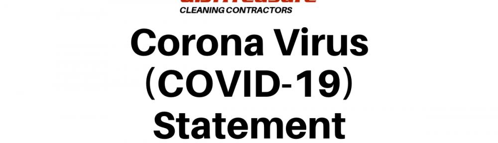 Corona Virus Statement
